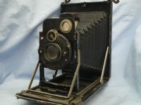 '   9X12  K.W DALLMEYER -VERY RARE- '  K.W. Patent Etui Vintage 9x12cm Folding Camera c/w Dallmeyer Perfac Lens -NICE- £119.99